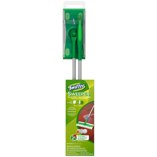 Swiffer Sweeper Floor Mop Starter Kit and Refills Surface Care