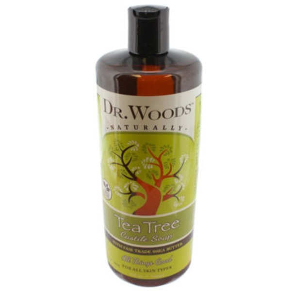 Dr. Woods Soaps Liquid Soap Tea Tree