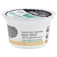 Maple Hill Creamery Yogurt Grk Vnla 100%grsfd