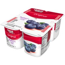 Great Value Original Blueberry Lowfat Yogurt