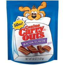 Canine Carry Outs Bacon Flavor Dog Treats, 50 Oz.