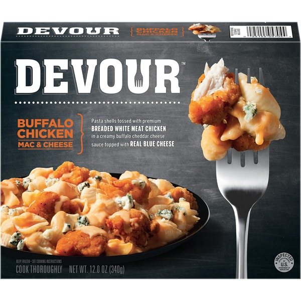 Devour Buffalo Chicken Mac & Cheese Frozen Entree
