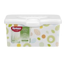 Huggies Natural Care Baby Wipes, Fragrance Free Pop-Up Tub (64 ct)