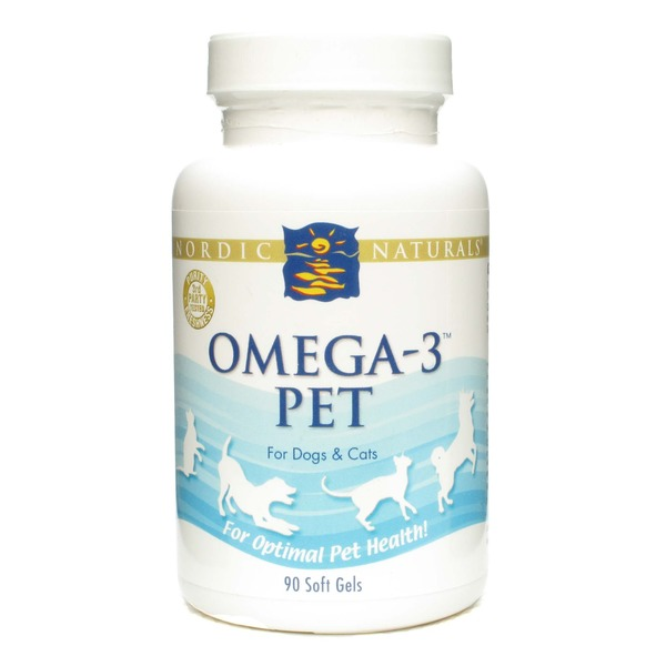 Nordic Naturals Omega-3 Pet For Dogs & Cats, Softgels