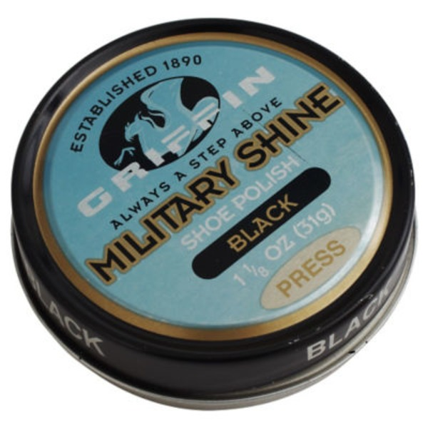 Griffin Black Military Shine Paste Wax