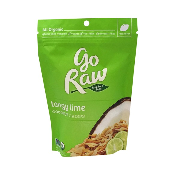 Go Raw Coconut Crisps, Lime in the Coconut