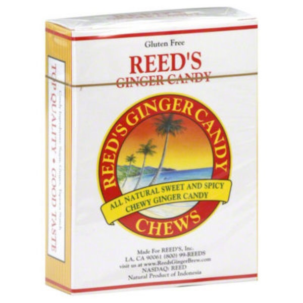 Reed's Inc. Ginger Candy Chews