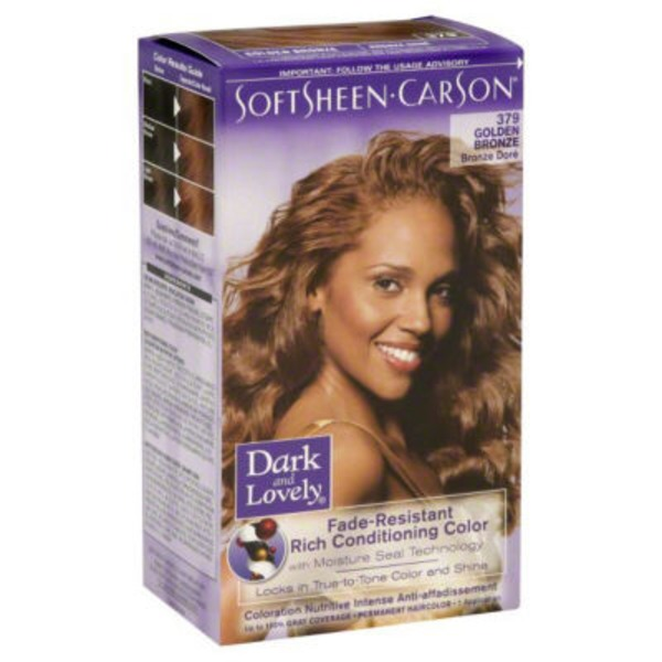 Dark and Lovely Fade Resistant Rich Conditioning Color 379 Golden Bronze Haircolor