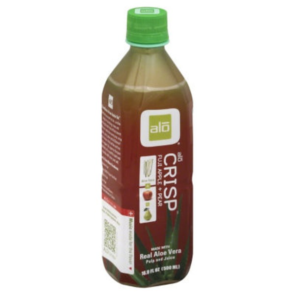 Alo Al? Aloe Vera Juice Drink Fuji Apple + Pear
