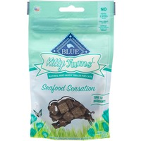 Blue Buffalo Treats for Cats Natural Soft-Moist Savory Seafood Recipe