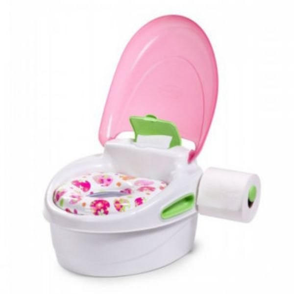 30ed2949ade H-E-B Summer Infant Pink All In One Potty Seat Step Stool Delivery ...