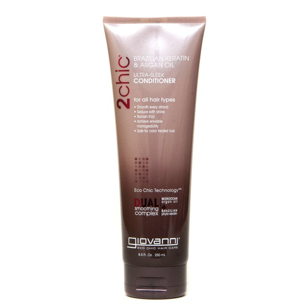 Giovanni 2Chic Conditioner Brazilian Keratin & Argan Oil