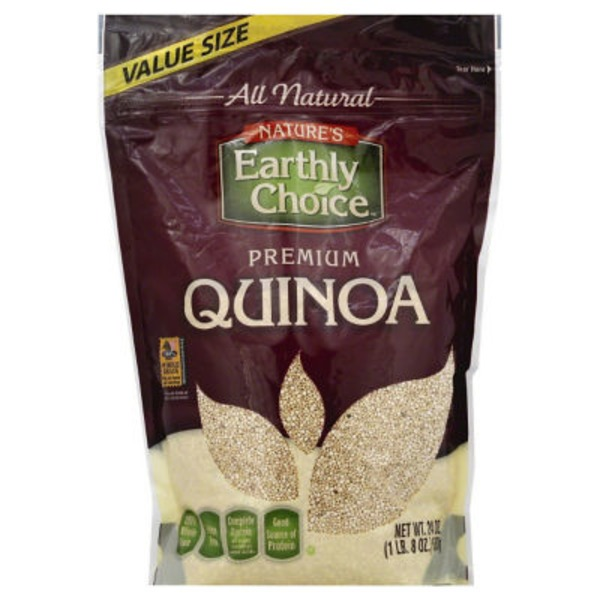 Nature's Earthly Choice Premium Quinoa Value Size