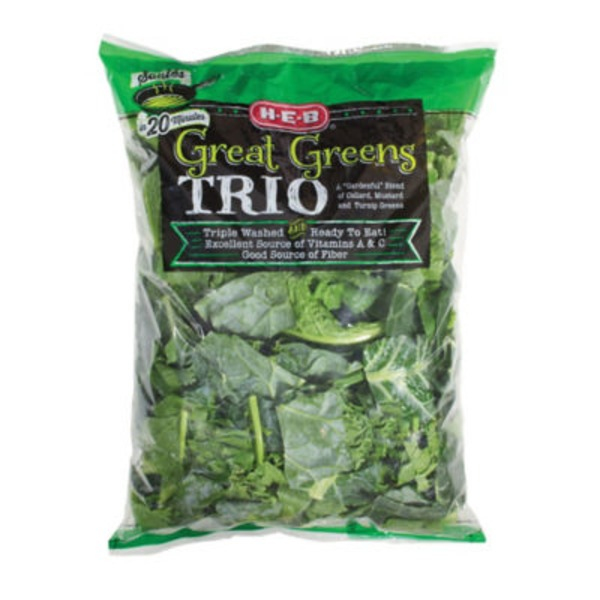H-E-B Great Greens Trio
