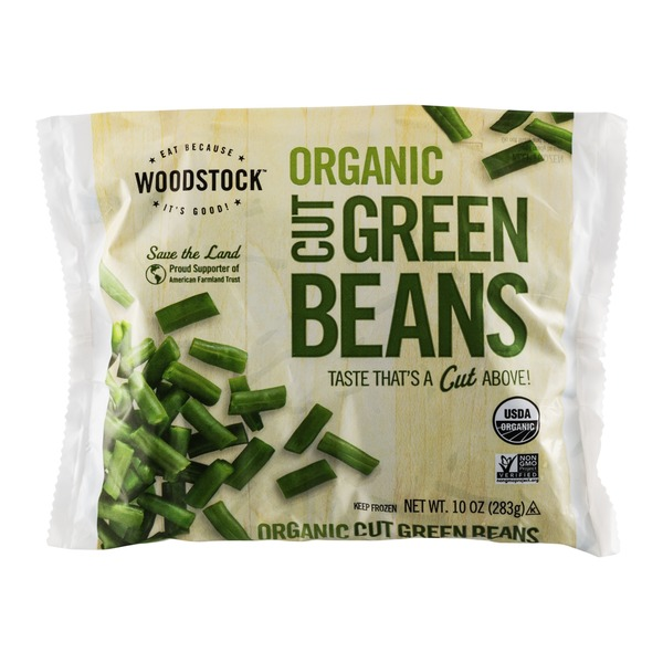 Woodstock Farms Organic Cut Green Beans