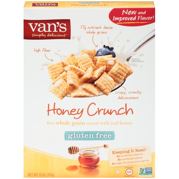 Van's Natural Foods Honey Crunch Cereal