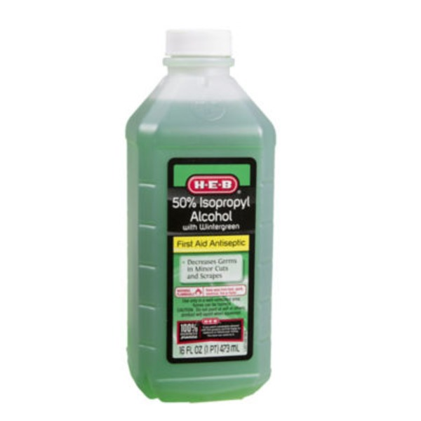 H-E-B 50% Wintergreen Isopropyl Alcohol