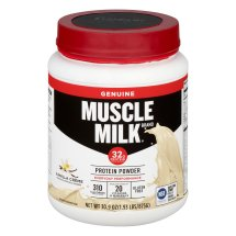 Muscle Milk Vanilla Creme Lean Muscle Protein Powder, 30.9 oz