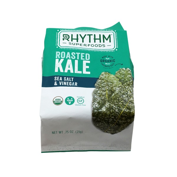 Rhythm Superfoods Organic Sea Salt And Vinegar Roasted Kale