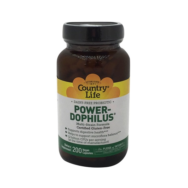 Country Life Power-Dophilus 12 Billion v-caps