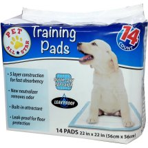 PET All Star Puppy Pads, 14 ct