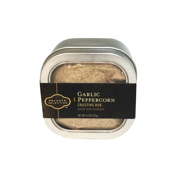 Kroger Private Selection Garlic Peppercorn Crusting Rub