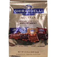 Ghirardelli Chocolate Assorted Four Chocolate Flavors In Gold Bag