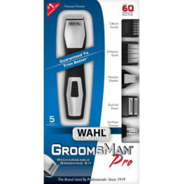 Wahl Groomsman Pro Trimmer Set
