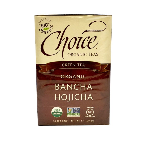 Choice Organic Teas Organic Bancha Hojicha Green Tea