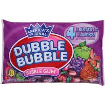 Dubble Bubble Bubble Gum, Assorted Flavors, 16 Oz