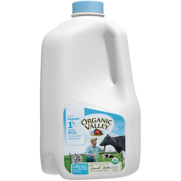Organic Valley 1% Lowfat Milk