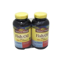 Nature Made Fish Oil 1200mg With 360mg Omega 3 Soft Gels 2 Pack
