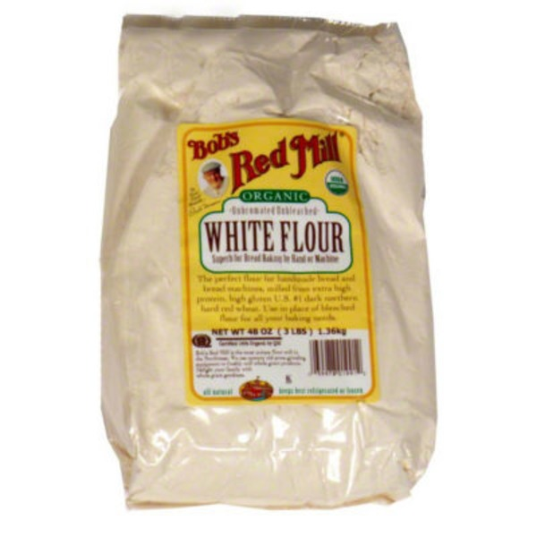 Bob's Red Mill Organic All-Purpose Unbleached White Flour
