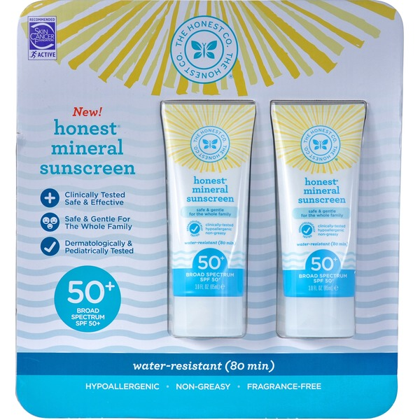 The Honest Company Honest Mineral Sunscreen SPF 50+