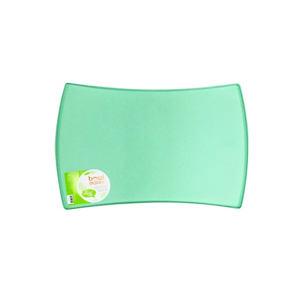 Bowlmates Medium Mint Silicone Dog Placemat