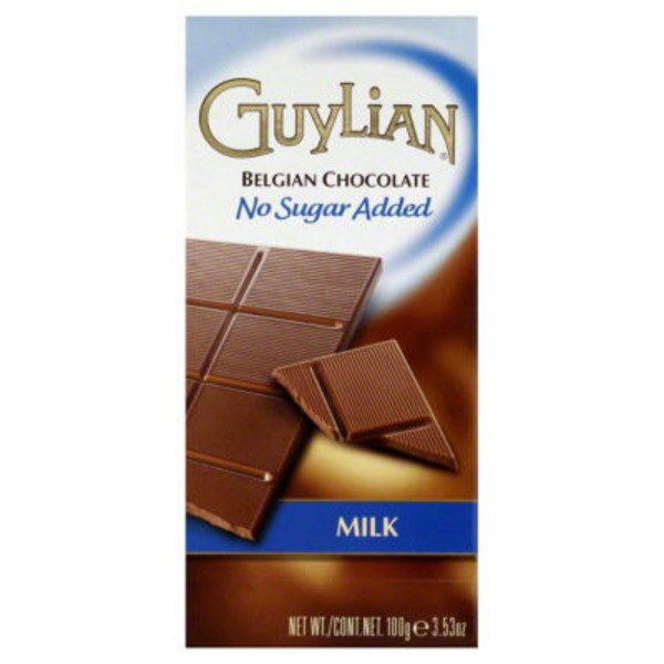 Guylian No Sugar Added Belgian Milk Chocolate Bar