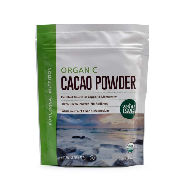 Whole Foods Market Organic Cacao Powder