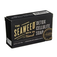 The Seaweed Bath Co. Detox Cellulite Soap Exfoliating With Arabica Coffee