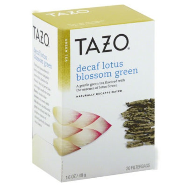 Tazo Tea Decaf Lotus Blossom Green Tea
