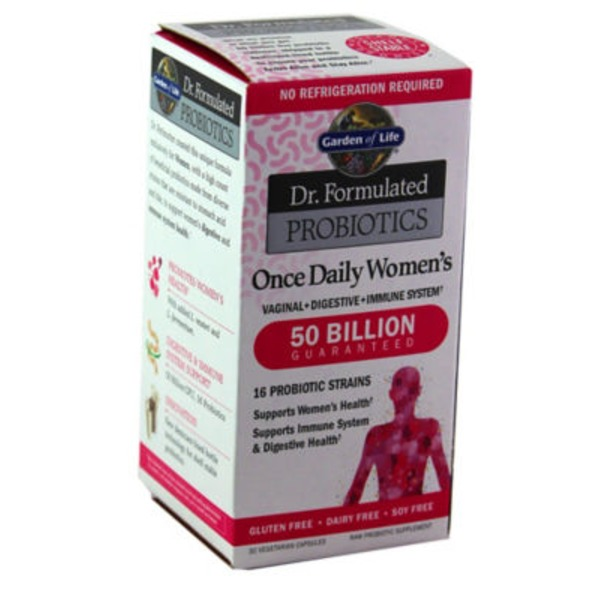 Garden of Life Doctor Formulated Probiotic Women's 50 Billion