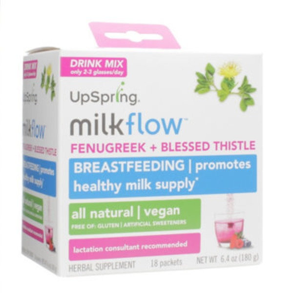 Upspring Baby milkflow Fenugreek Drinkx Mix - Triple Berry