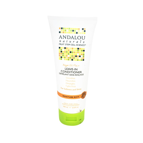 Andalou Naturals Leave-In Conditioner, Argan Oil Plus +, Moisture Rich