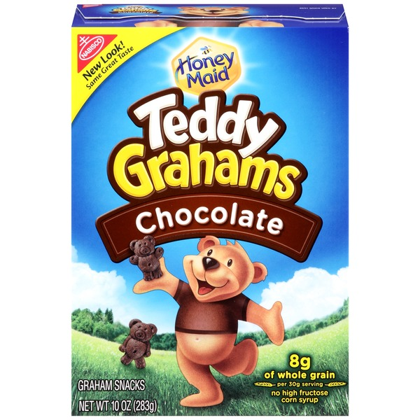 Nabisco Teddy Grahams Chocolate Graham Snacks