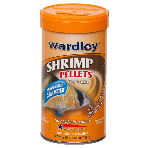 Wardley Shrimp Pellets Formula
