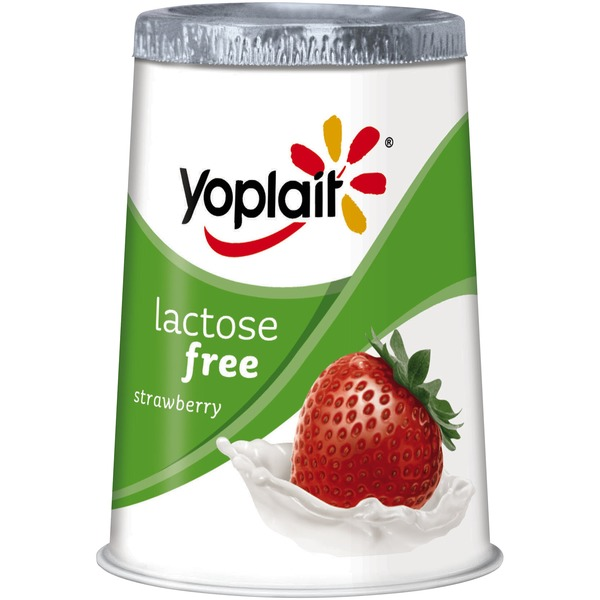 Yoplait Lactose Free Strawberry Low Fat Yogurt