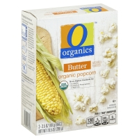O Organics Organic Popcorn Microwave Butter Flavored - 3