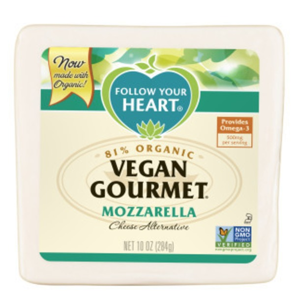 Follow Your Heart Cheese Alternative, Dairy Free, Mozzarella Style