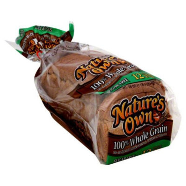 Nature's Own Life Sugar Free 100% Whole Grain Bread