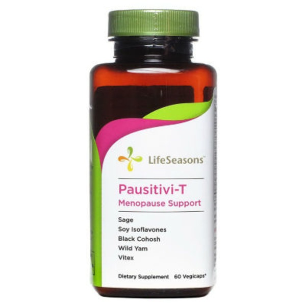LifeSeasons Pausitivi T Menopause Support Vegi Capsules