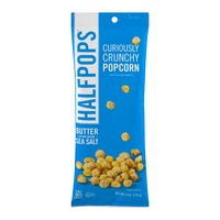 Halfpops Curiously Crunchy Popcorn Butter & Pure Ocean Sea Salt
